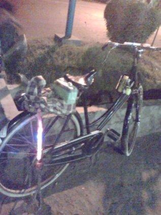 penampakan sepeda