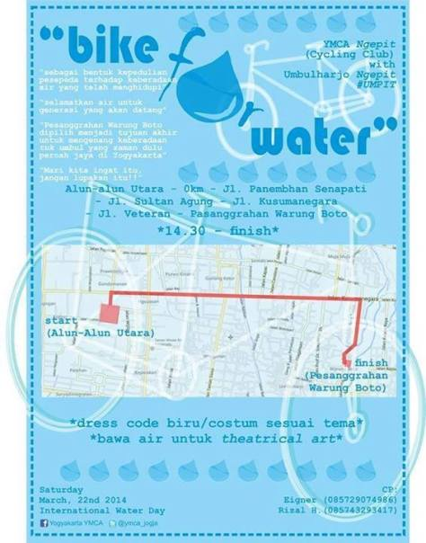 BIKE FOR WATER