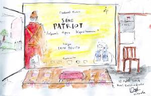 diskusi buku sang patriot