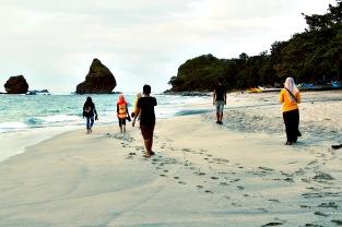 walk to Papuma