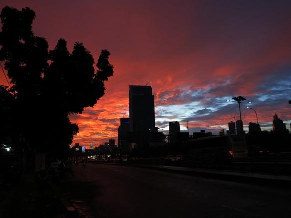 Twilight at Mampang